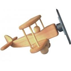 Biplano in legno