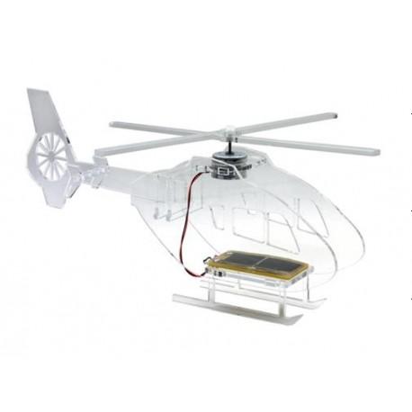 Elicottero in plexiglas