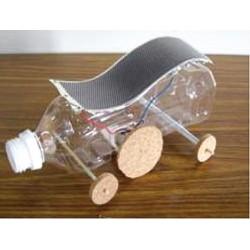 kit con motorino pannello solare flessibile
