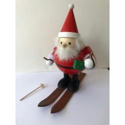 Babbo Natale sugli sci